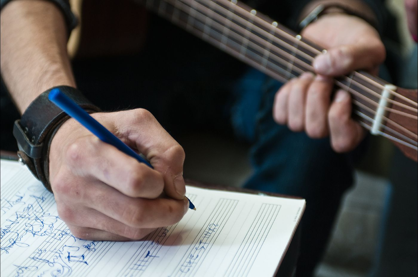 Guitarist songwriting